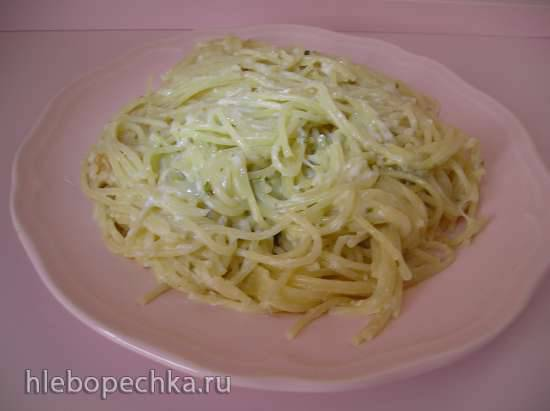 Макароны с сыром в рисоварке 1л