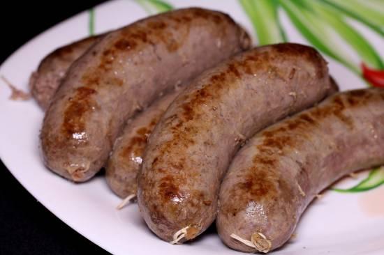 """Колбаски """"Охотничьи"""" (из мяса лося)"""