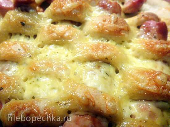 Пицца-плетенка в пицца(е)печке