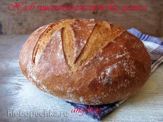 Хлеб пшенично-ржаной без замесаХлеб пшенично-ржаной без замеса