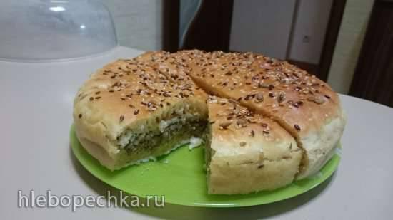 Рыбный пирог на татарском тесте в Princess 115000
