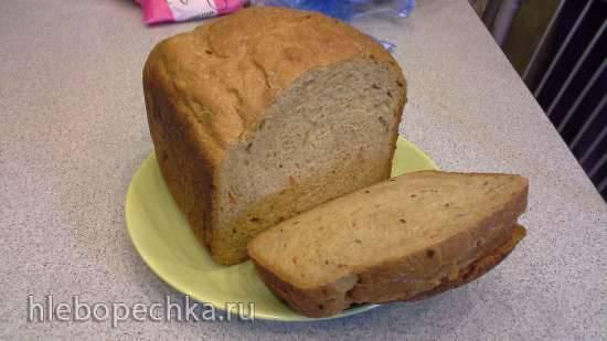 Brand 3801. многозерновой пшенично-ржаной хлеб для хлебопечки