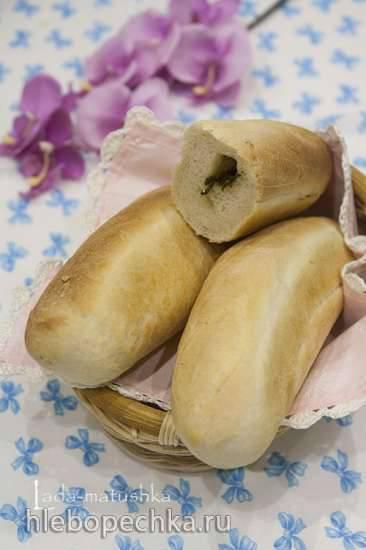 "Багеты с ""ароматным маслом"" для Moulinex OW 6121 Home Bread Baguet"