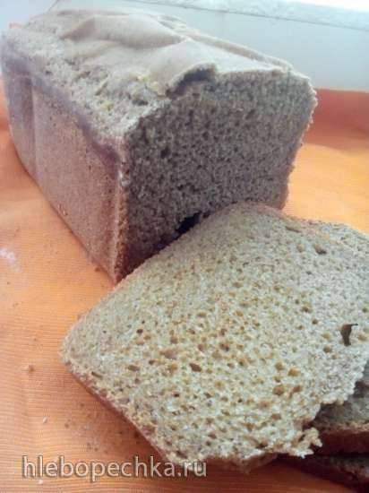 Polaris 1501. Пшенично-ржаной хлеб на закваске и огуречном рассоле