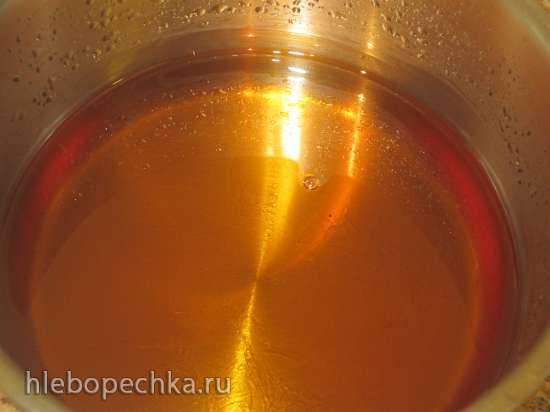Сироп инвертный  для замены меда (темной патоки) в кулинарии, выпечке и хлебопечении