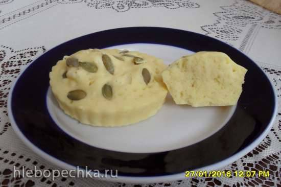 Закусочные кукурузные кексы за 90 секунд