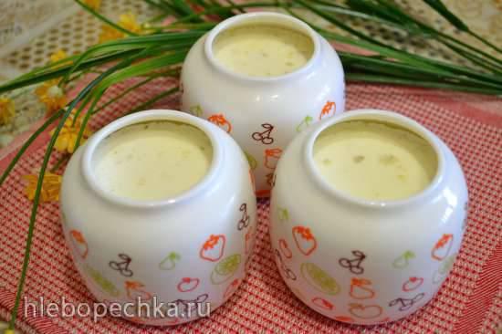 Простокваша заправочная с сыром, в йогуртнице Oursson