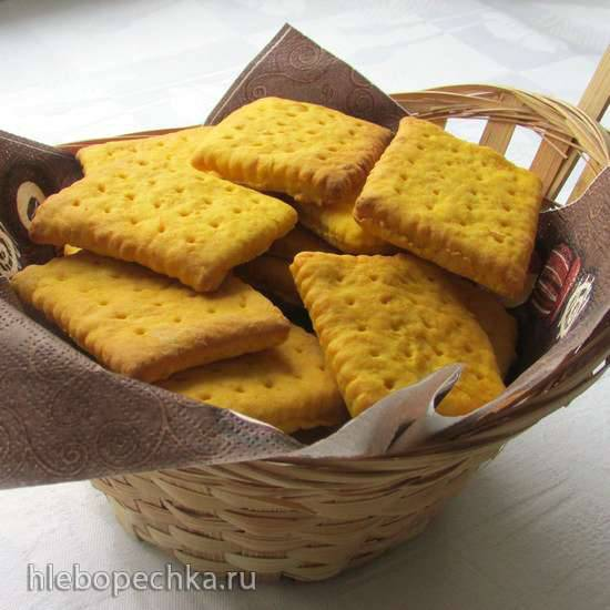 Тыквенное печенье с карамельным соусом