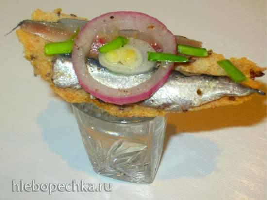 Балтийская килечка на бутерброд или любимые кадры из кинофильма Москва слезам не верит