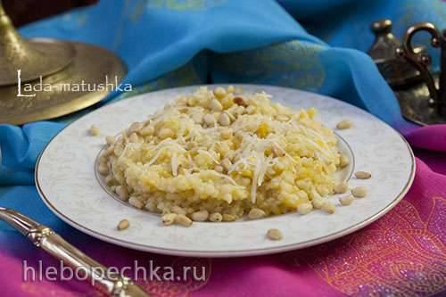 Каша пшенная с тыквой, сыром и кедровыми орешками в мультиварке Zigmund&Shtain MC-DS42IH