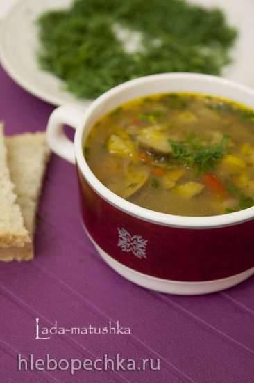 Суп с баклажанами постный (для Zigmund & Shtain MC-DS42IH)