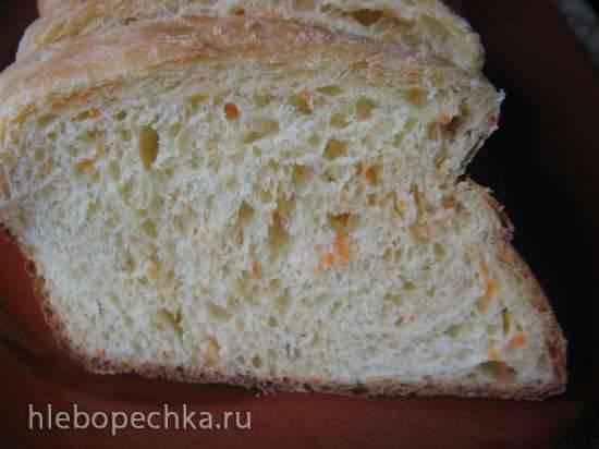 Морковный дрожжевой хлеб