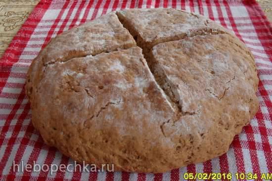 Серый содовый хлеб (пиццамейкер Princess 115000)