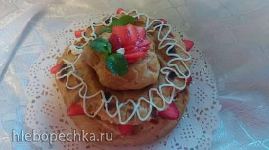 Пери-брест (эклерный торт)