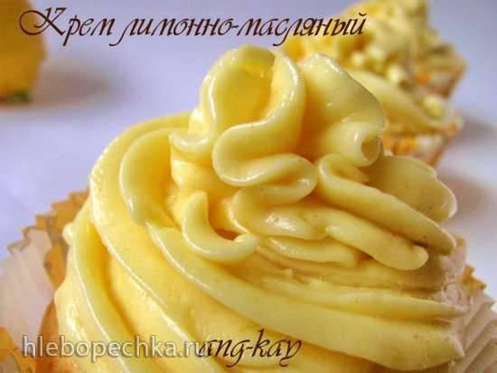 Крем лимонно-масляный
