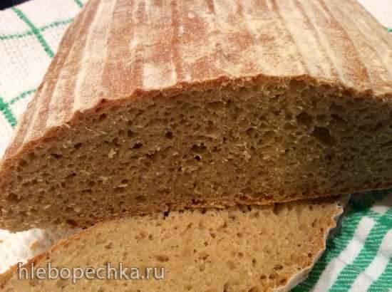 Хлеб из муки второго сорта на закваске