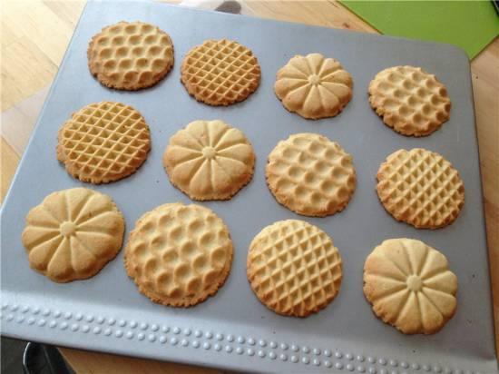 Печенье масляное штампованное