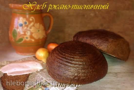 """Хлеб ржано-пшеничный по мотивам """"Знатный сувенирный"""" Беларусь"""