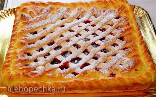 Сладкий пирог в духовке рецепт с фото