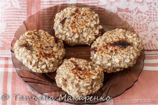 Овсяное печенье в Jardeko