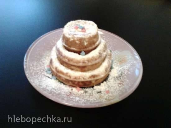 Словацкие дрожжевые оладьи в мини тортнице Princess 132410