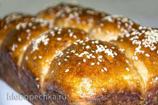 Хлеб пшеничный цельнозерновой «ЛУКьяныч»