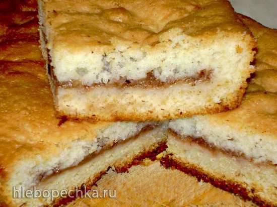 Пирог яблочный с корицей по-югославски