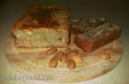 Яблочный кекс с корицей в духовке