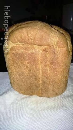 Пшенично-ржаной хлеб на помидорном рассоле