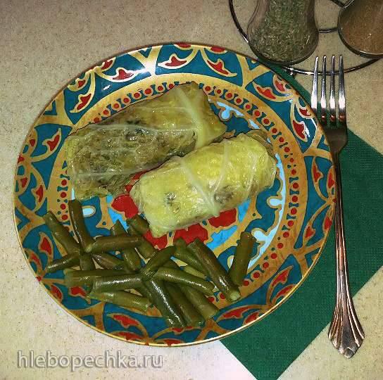 Толма - голубцы с мясом и рисом в виноградных листьях