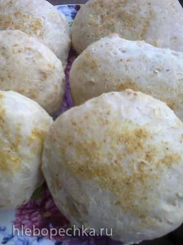 Хлебцы капустные (постные)
