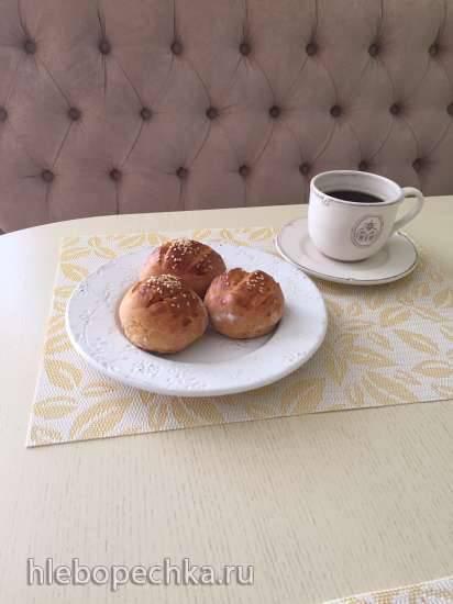 Порционный пшенично-кукурузный хлеб к завтраку