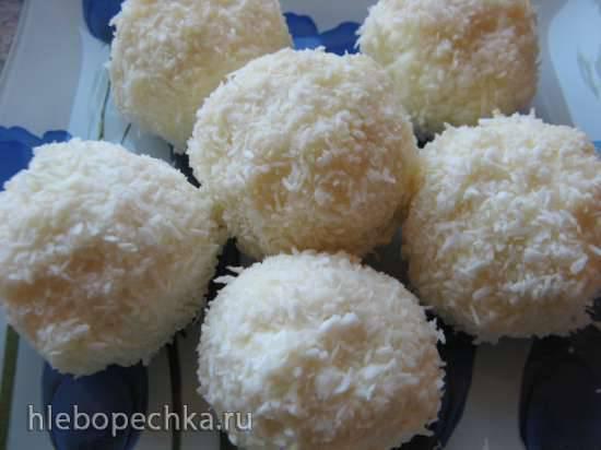 Творожный десерт Рафаэлло по-бобруйски