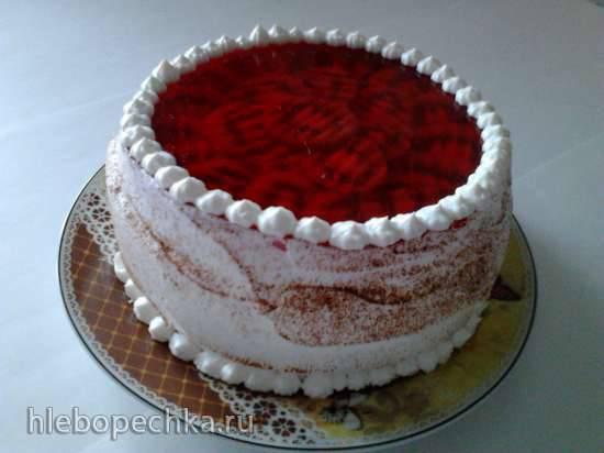 Торт с суфле Фруктовая фантазия