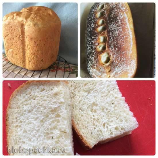Panasonic 2502. Хлеб картофельный с сыром и свежим укропомPanasonic 2502. Хлеб картофельный с сыром и свежим укропом