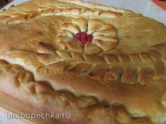 Луковник (постный пирог)