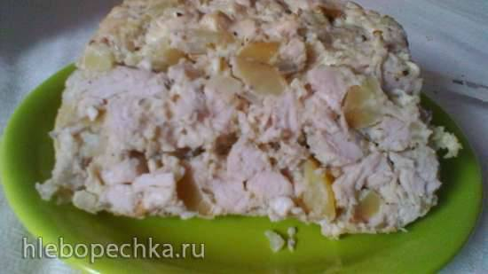 Филе индейки, тушеное с картофелем