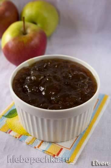 Джем из яблочного сока с лавандой