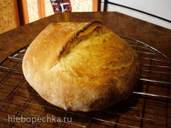 Каравайчик пшеничный соленый (духовка)