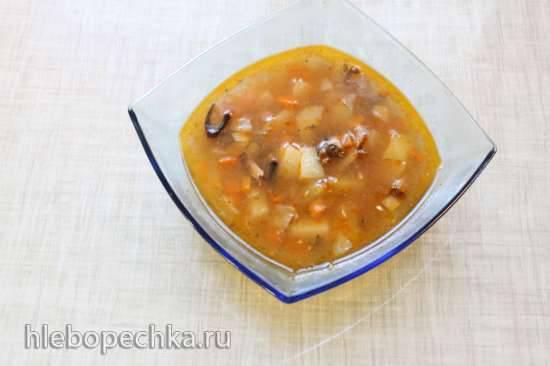 Суп из кильки в мультиварке Steba