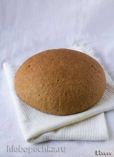 Хлеб цельнозерновой пшенично-ржаной с шоколадом