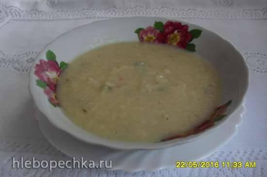 Тыквенно-кабачковый суп-пюре в мультиварке Brand 37502