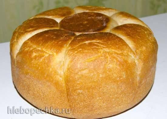 """Хлеб """"Солнышко"""" с цельнозерновой мукой"""