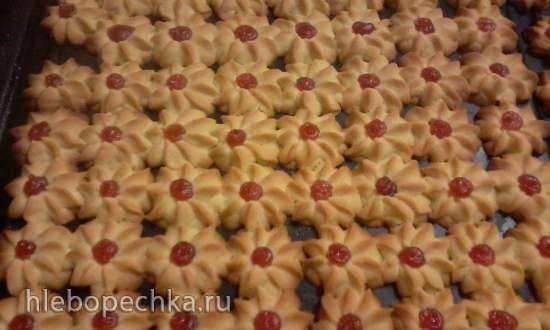 рецепты отсадное песочного печенья