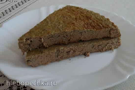 Суфле из печени и кабачков