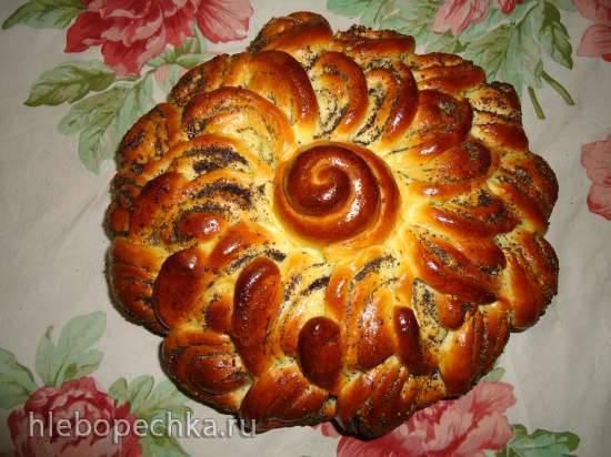 Дрожжевой пирог Бабушкина салфетка