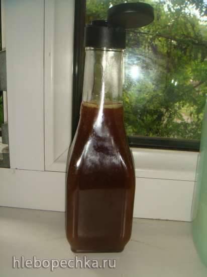 Карамельный соус из кефира