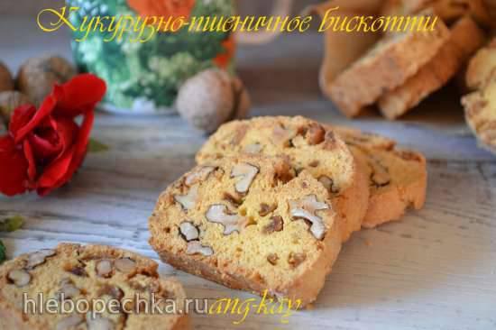 Кукурузно-пшеничное бискотти Кукурузно-пшеничное бискотти