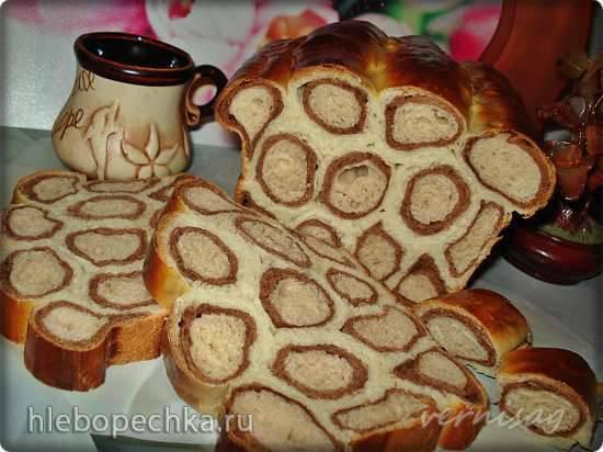 Молочно-шоколадный хлеб