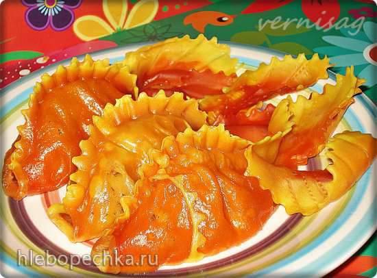 """Манты """"Золотая рыбка"""" (идеи для цветного теста)"""